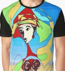 India Ink Sketch Graphic T-Shirt
