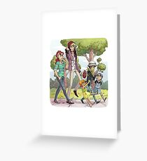 Corabelle Family Greeting Card