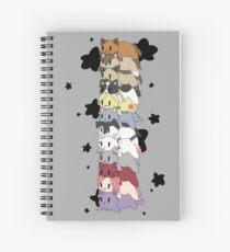 Twelve- Vessel Loaf Stack Spiral Notebook