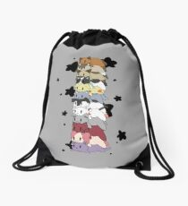 Twelve- Vessel Loaf Stack Drawstring Bag