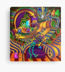 The Conductor of Consciousness Metal Print