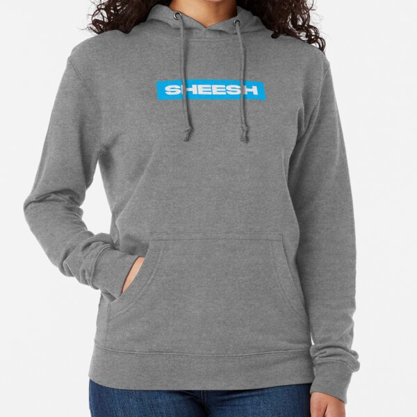 Valorant SHEESH Hellblaues Design Leichter Hoodie