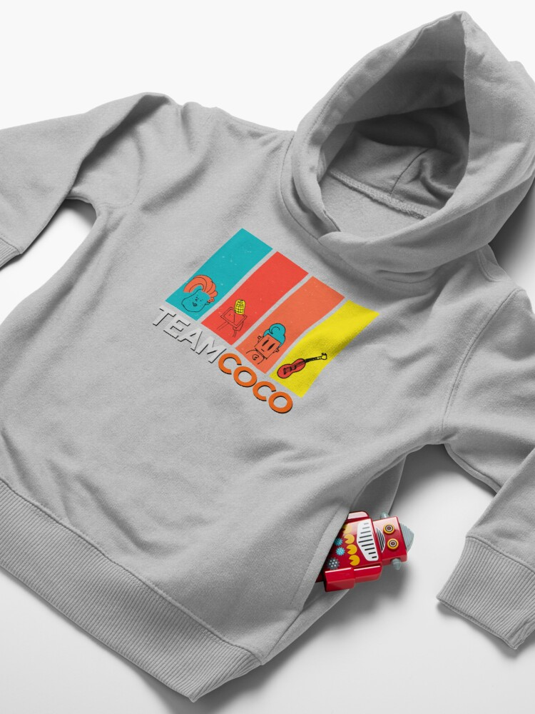 Alternate view of Team Coco Toddler Pullover Hoodie