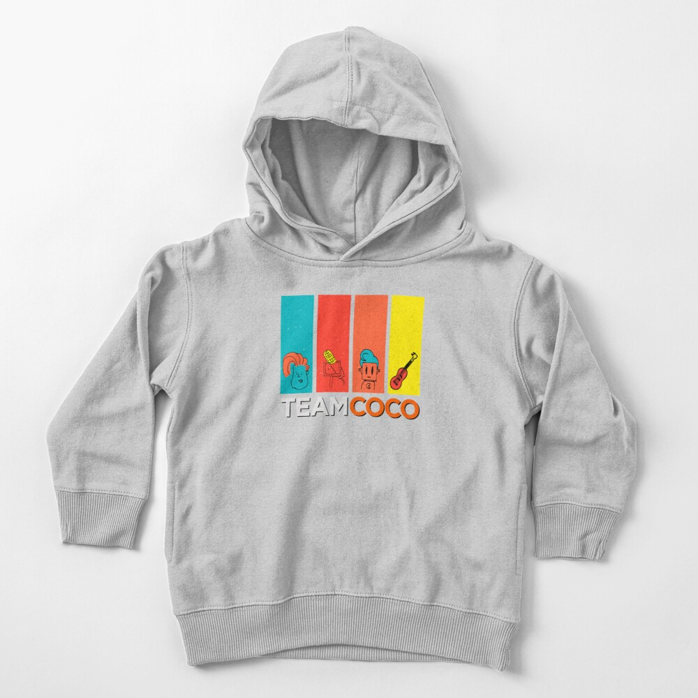 Team Coco Toddler Pullover Hoodie
