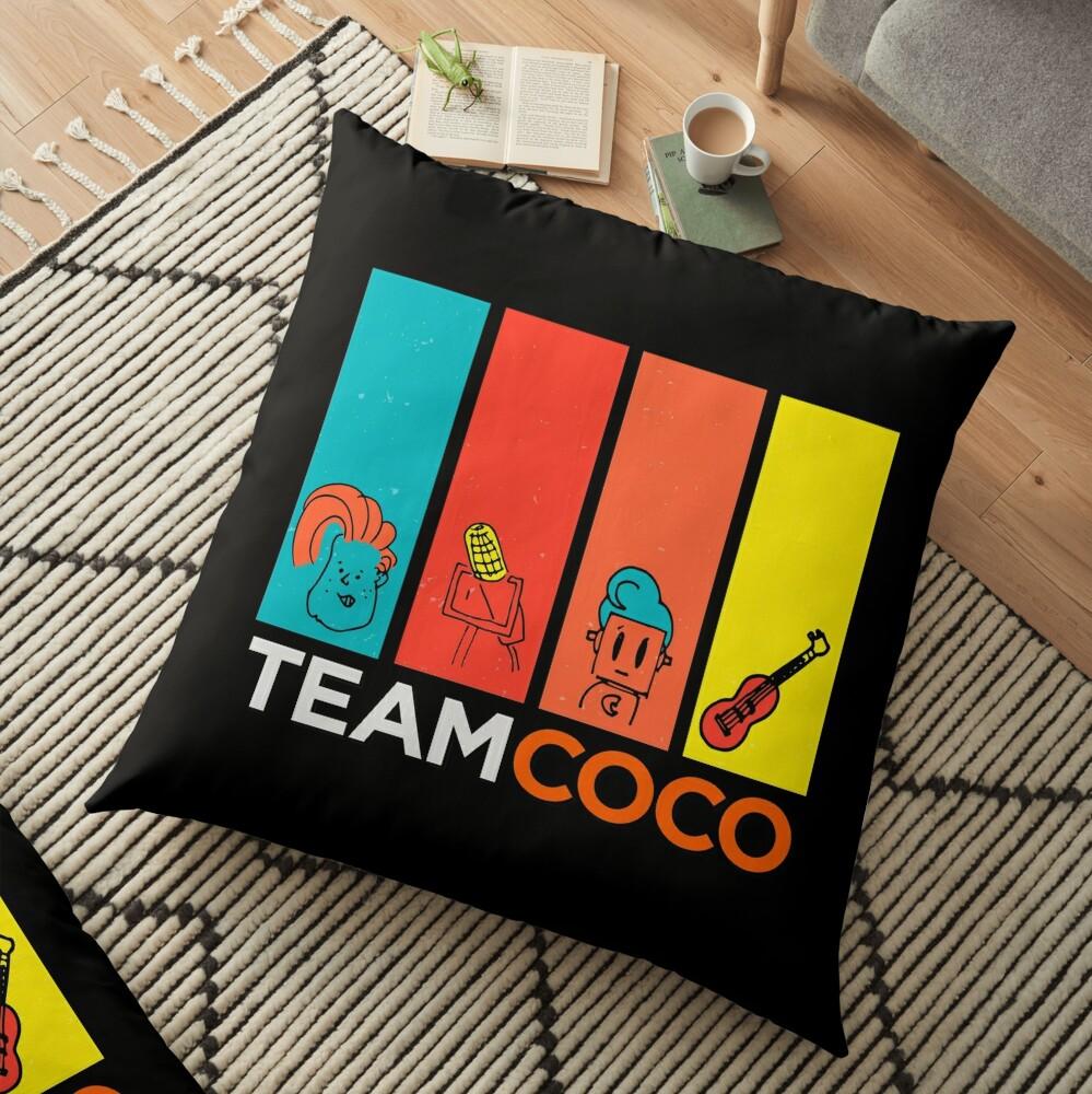 Team Coco Floor Pillow