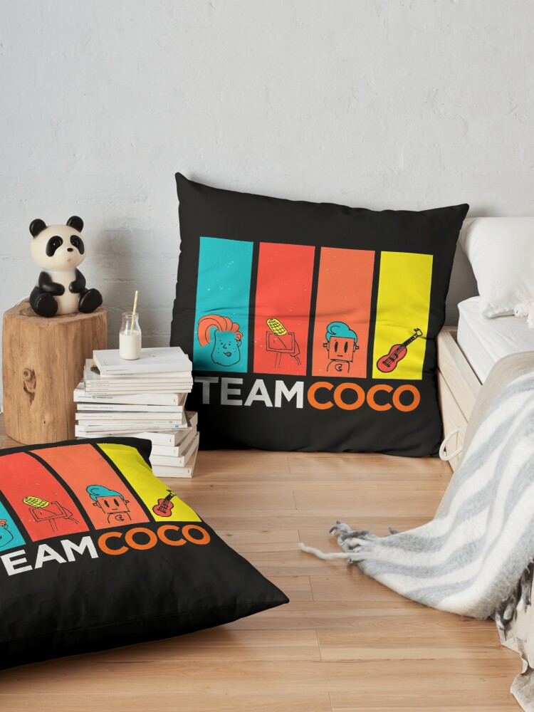 Alternate view of Team Coco Floor Pillow