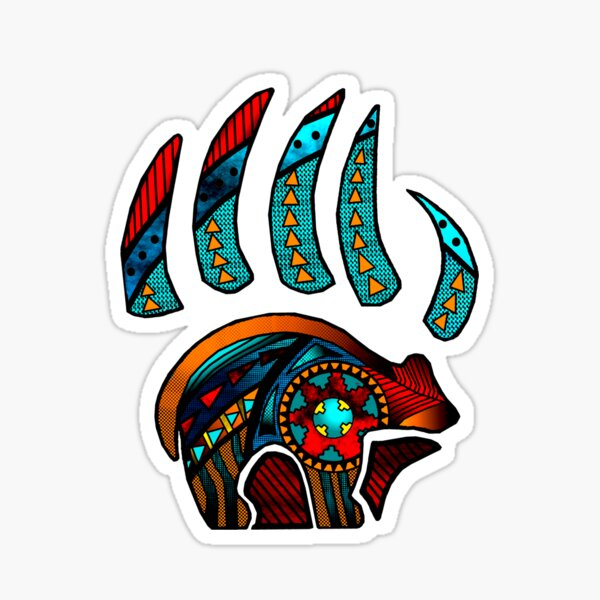 Bear Claw Sticker