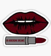 Aubergine Dreams Sticker