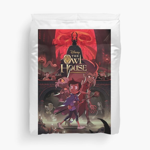 The Owl House: Season 2 Poste| Perfect Gift | Owl house gift Duvet Cover