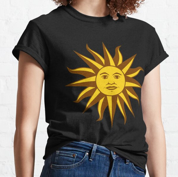 Sun with a face Classic T-Shirt