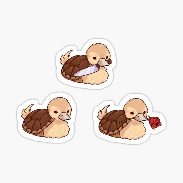 ATLA Turtle Ducks Set Sticker