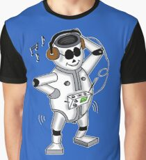 retro robot -the groover t-shirt Graphic T-Shirt