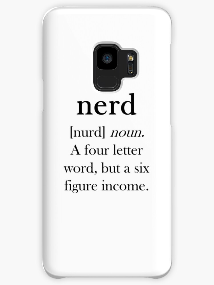 Nerd Definition by jnlovett