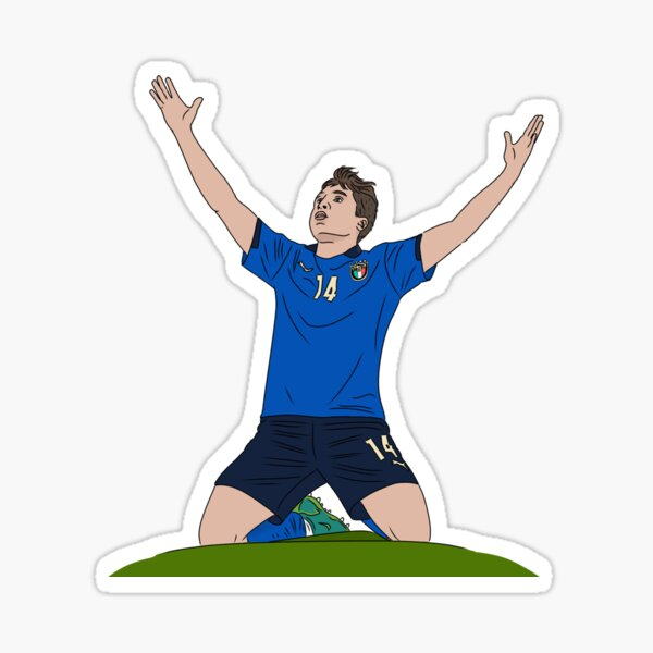 Chiesa Euro2020 Sticker