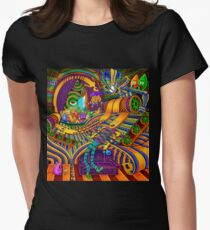 The Conductor of Consciousness Women's Fitted T-Shirt