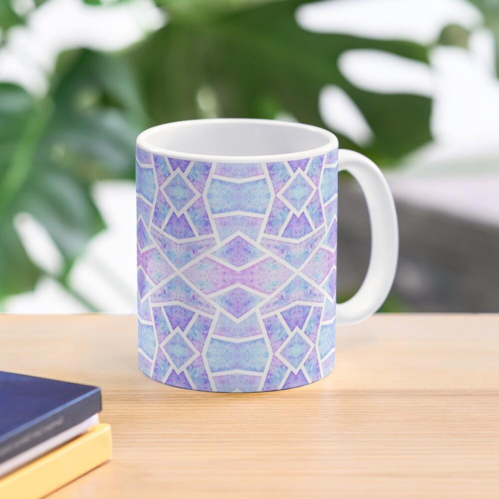 Mug «Mosaïque Bleue»