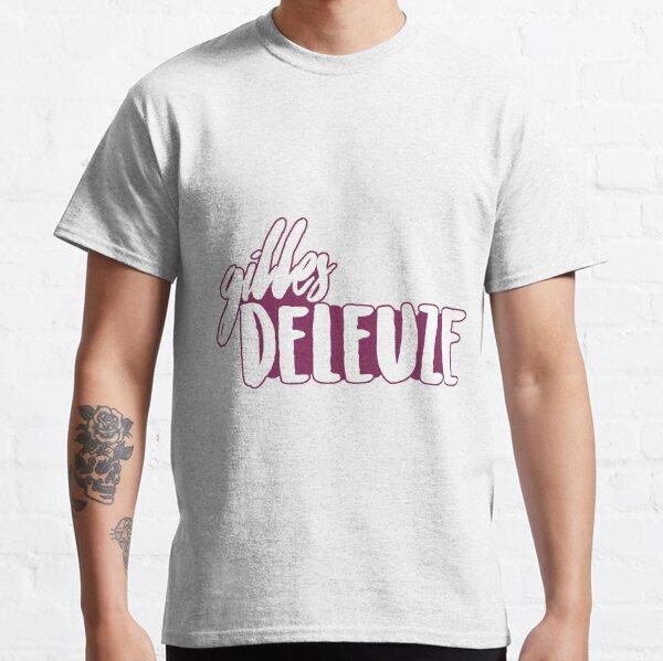 gilles deleuze T-shirt classique