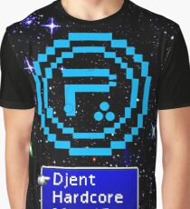 Periphery 8-bit Blue/Select Difficulty Graphic T-Shirt