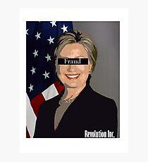Fraud Clinton Photographic Print