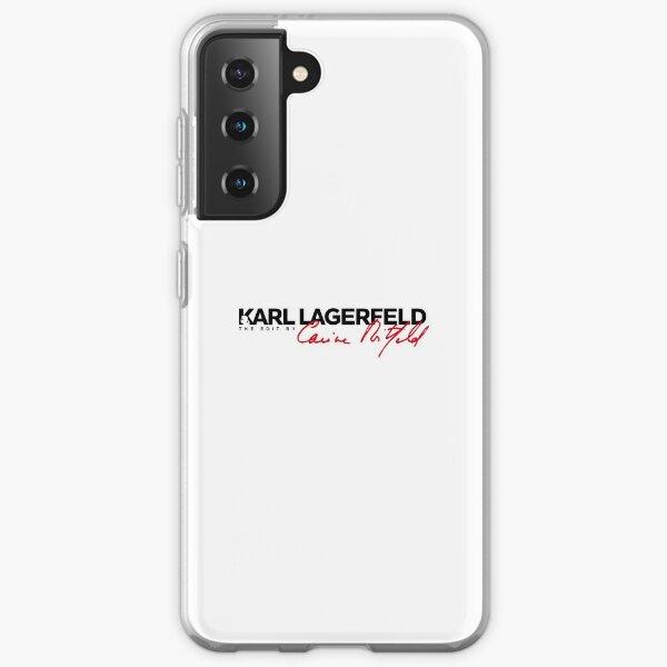 MEILLEURE VENTE - Marchandise Karl Lagerfeld Coque souple Samsung Galaxy