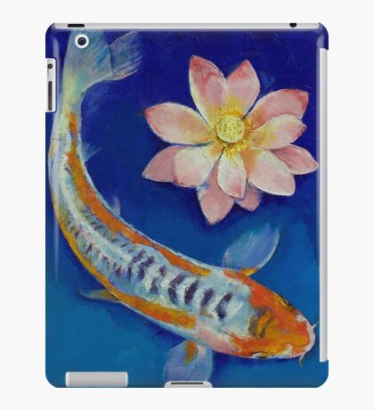Koi Fish and Lotus iPad Case/Skin