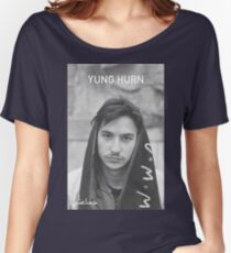 Yung Hurn Portait Women's Relaxed Fit T-Shirt