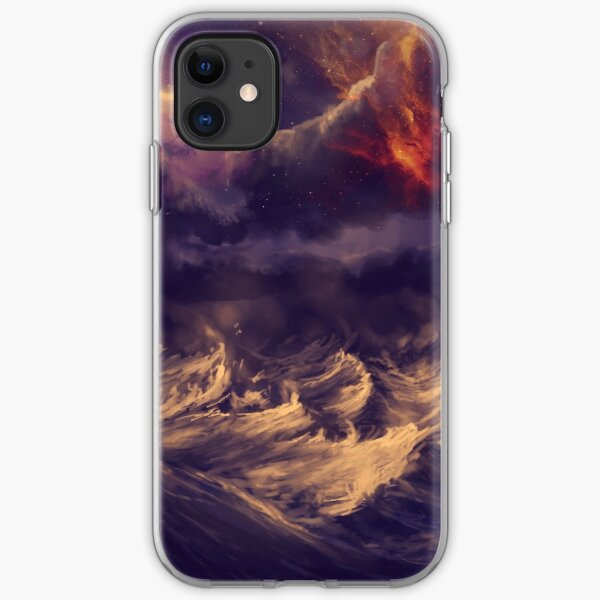 Stormy ocean iPhone Soft Case