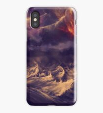 Stormy ocean iPhone Case