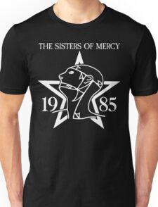 Sisters of Mercy shirt with '1985' Unisex T-Shirt