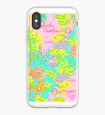 Lilly Pulitzer South Carolina Print Inspired  iPhone Case