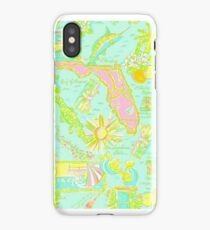 Lilly Pulitzer Florida Print Inspired iPhone Case/Skin