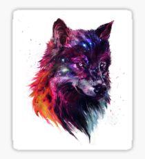 Howl of the Stars Sticker