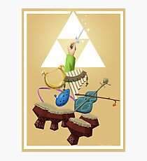Zelda Instruments Photographic Print