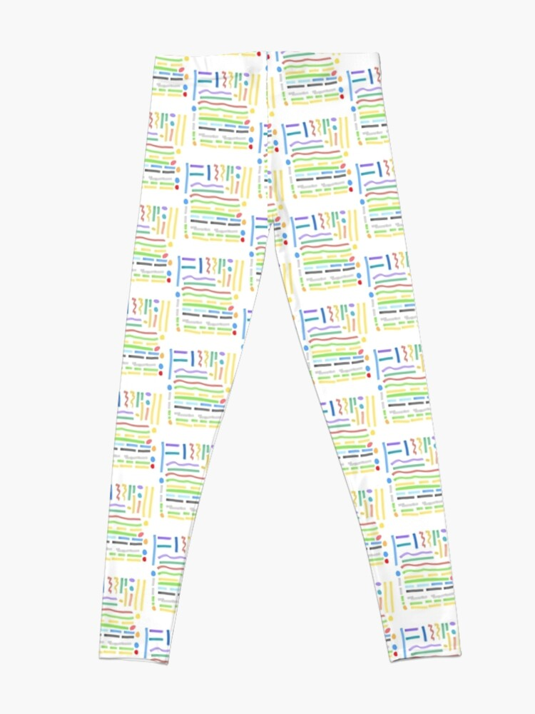 Alternate view of Relax And Relaxed Leggings