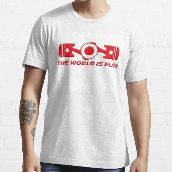 VW the world is flat Essential T-Shirt