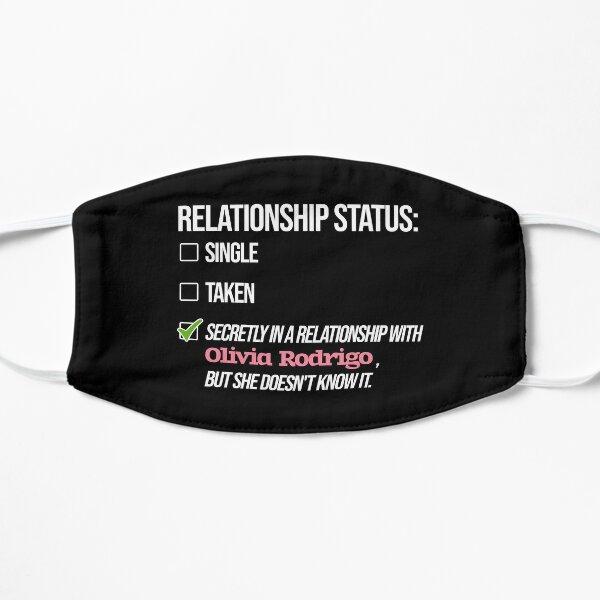 Relationship with Olivia Rodrigo Flat Mask