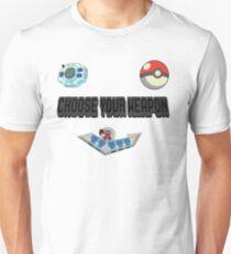 Choose Your Nostalgia Weapon T-Shirt