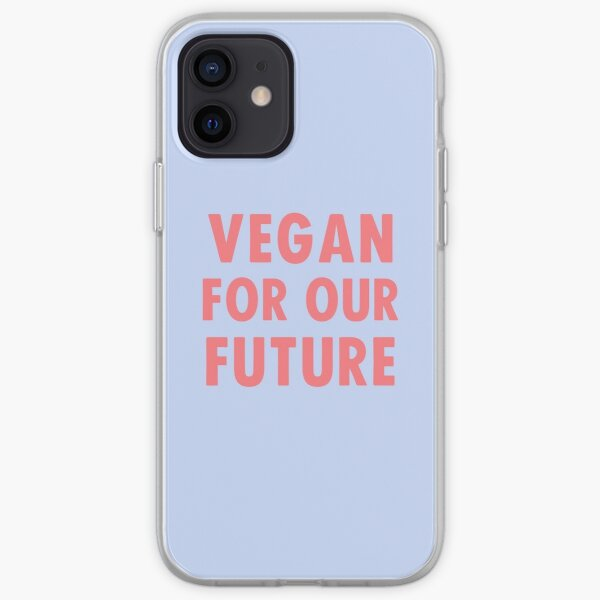 Vegan For Our Future iPhone Soft Case