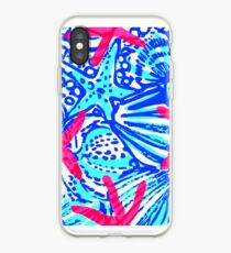 Lilly Pulitzer Wisconsin State Inspired  iPhone Case