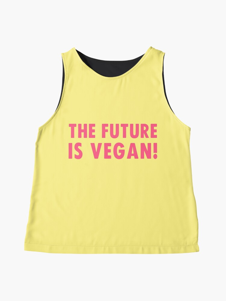 Alternate view of The Future is Vegan! Sleeveless Top