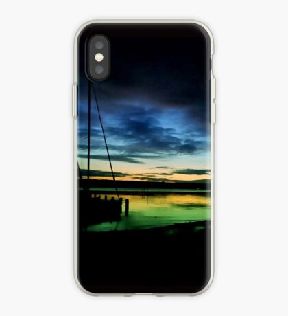 Aidenried sunset iPhone Case