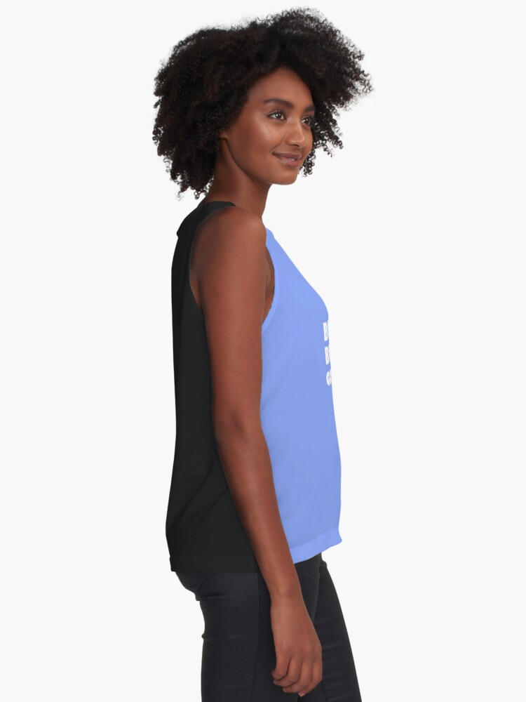 Alternate view of Be Cool, Be Kind, Go Vegan! Sleeveless Top