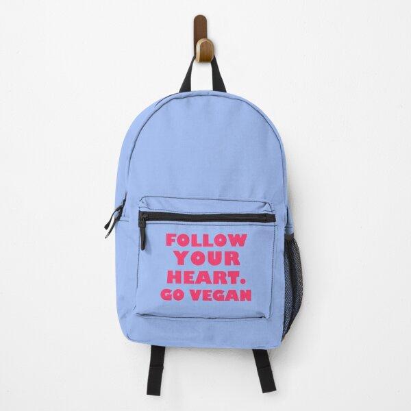 Follow Your Heart. Go Vegan Backpack