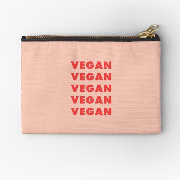 Vegan Vegan Vegan Zipper Pouch