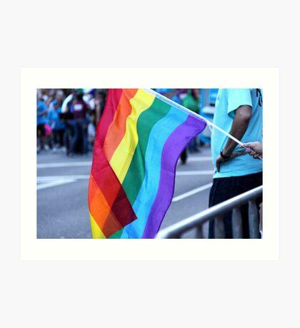 Gay Pride Art Print