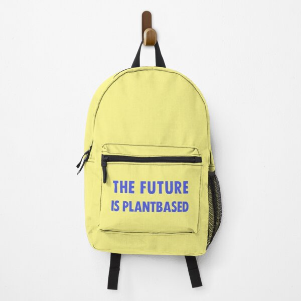 The Future Is Plantbased Backpack