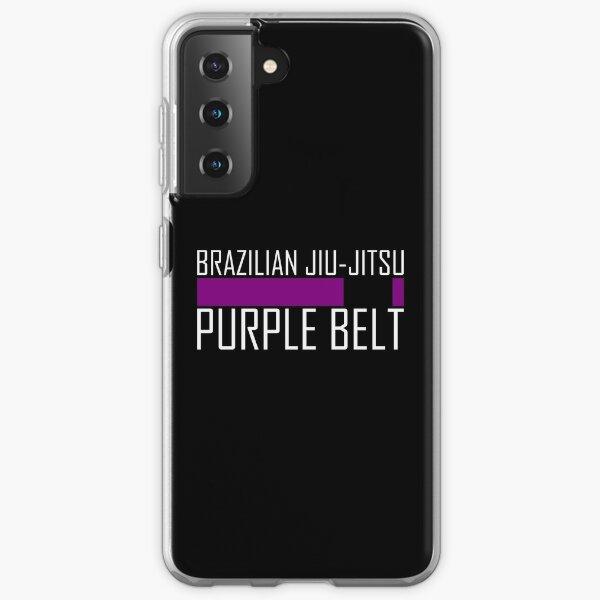 BJJ purple belt - Brazilian Jiu-jitsu Samsung Galaxy Soft Case