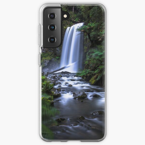 Hopetoun Falls, Cape Otway Samsung Galaxy Soft Case