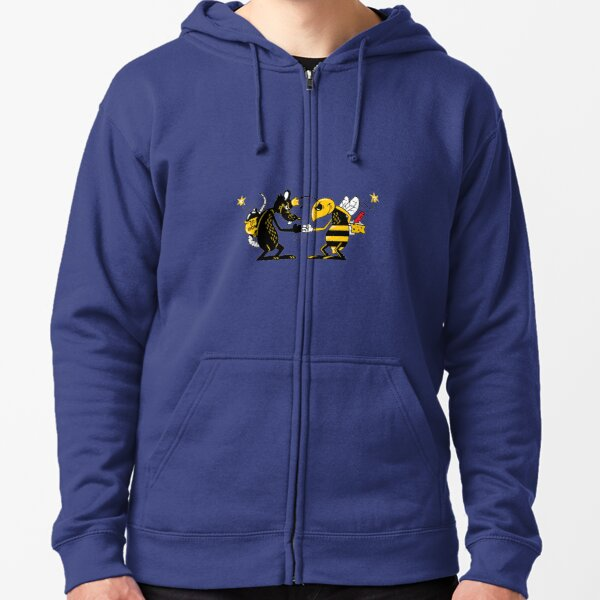 King And The Sting T-ShirtTheo Von - King And The Sting Podcast T-Shirt_by JuiceLimeStore_ Zipped Hoodie