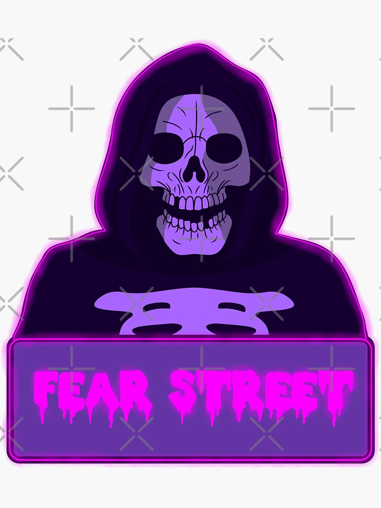 FEAR STREET Part One: 1994 (Skull Mask Killer) by LeviZammit